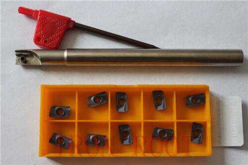 1P 300R-10-120L-C10-1T Indexable End milling Holder+10PCS APMT1135PDER-H2 insert