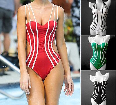 New Ladies Swimwear One Piece Swimdress Tankini Bather AU Size 8 10 12 14 #2101