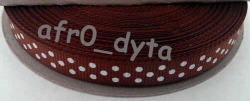 """10mm x 25m gros-grain ruban-full roll-acheter 3 pour 2 3//8/"""""""