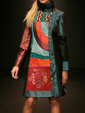 MANTEAU FEMME DESIGUAL LADY BLUE BY LACROIX NEUF TAILLE 40