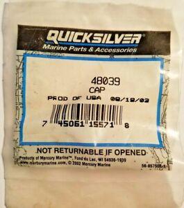 New Mercury Mercruiser Quicksilver Oem Part # 48039 Cap