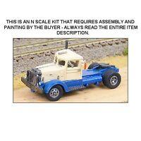N Scale: 1941 Peterbuilt 344 Semi-tractor Truck Kit - Ghq Kit 56006
