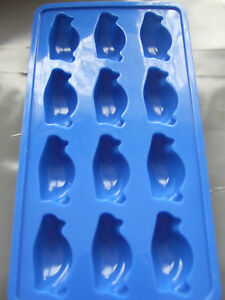Silicone-Mould-Penguin-Chocolate-Ice-Cube-Tray-Sweets-Soap-Wax-butter-etc