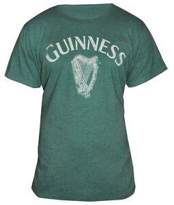 Activewear Activewear Tops Learned Guinness Vintage Harp Logo Tee Mens Green Irish Ireland Gaelic Shirt New