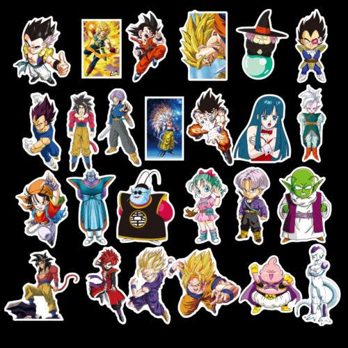 100Pc Dragon Ball Super Saiyan Sticker Bomb Decals For Skateboard Christmas Gift