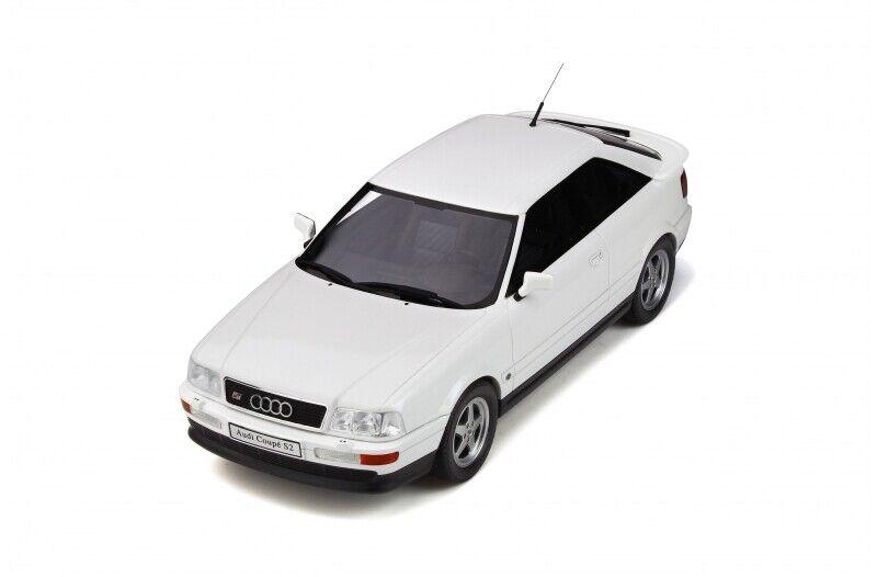 OTTO MOBILE 288 AUDI COUPE S2 Auto modellolo in RESINA BIANCO PERLA SCALA 1991 1 18th