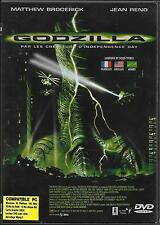 DVD ZONE 2 GODZILLA AVEC JEAN RENO, MATTHEW BRODERICK 1999
