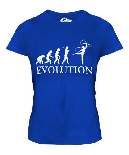 RHYTHMIC GYMNASTICS RIBBON EVOLUTION OF MAN LADIES T-SHIRT TEE TOP GIFT