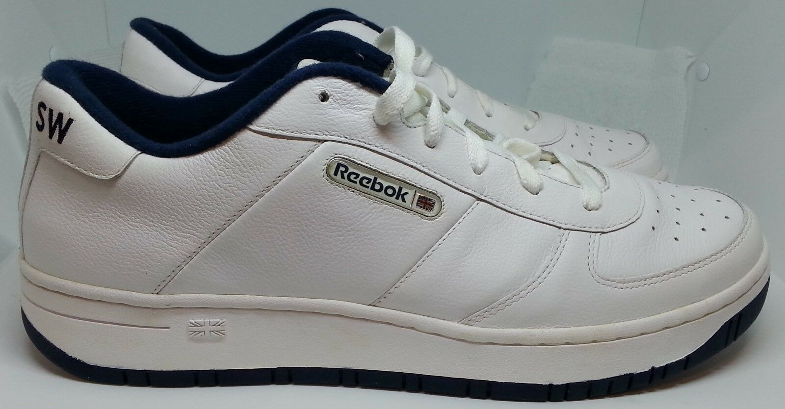 Reebok Classic SAMPLE PYE Athletic Running shoes White White--Men's Size 12.5 M