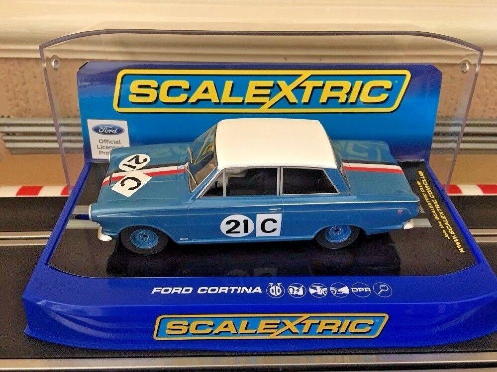 Scalextric Ford Cortina GT 1964 Bathurst No 21C (C3670) Brand New Boxed