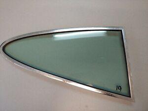 USED ORIGINAL PORSCHE 911 912 930 BRIGHT RR QUARTER WINDOW TINTED SEKURIT-F 19