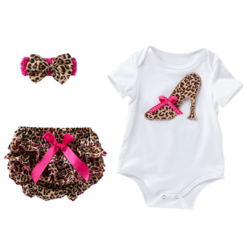 Ruffle Hosen Shorts Neugeborenes Baby Mädchen Kleidung Strampler
