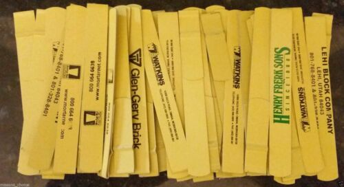 Snap Over Line Trigs Lot of 50pcs Bricklayer Masonry Line Twigs