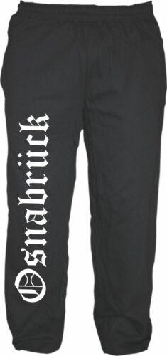 osna hose sweatpants jogginghose jogpants Schwarz Osnabrück Joggerhose