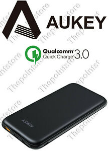 AUKEY Quick Charge 3.0 Caricabatterie Portatile, Power Bank