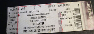 Roger-Waters-The-Wall-Live-XL-Center-2012-Ticket-Stub-6-29-12-Pink-Floyd