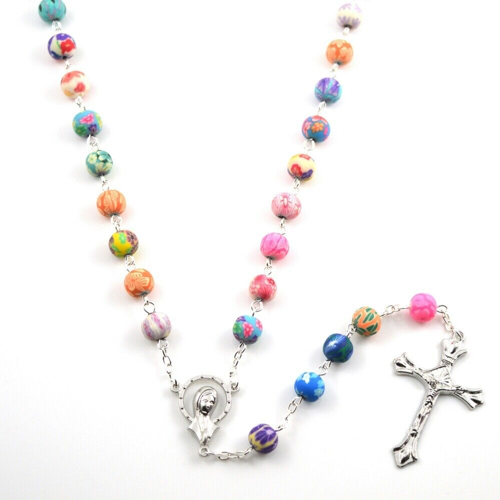 to htm p romance sweet necklace baroque jewelry rosary sr catholic
