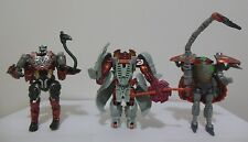 Transformers Beast Wars - Fox Kids Repaint Cheetor Rhinox Rattrap - COMPLETE