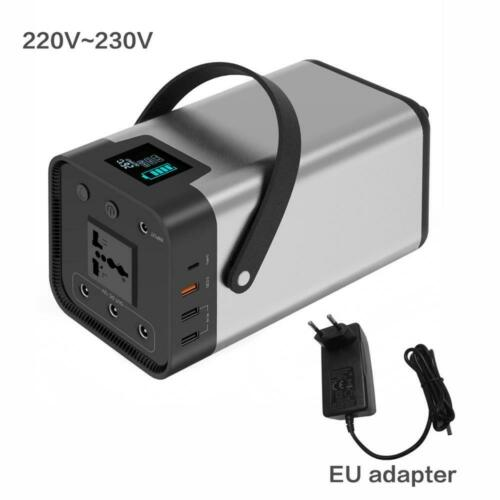 Generador Portátil De Litio 110V//230V 200Wh//54000mAh estación de energía portátil
