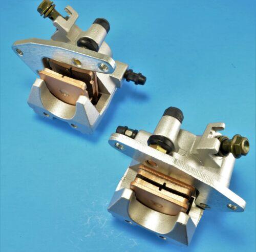 Pads For Suzuki ATV Vinson 500 LTF500F 2003 Front Right Left /& Brake Calipers