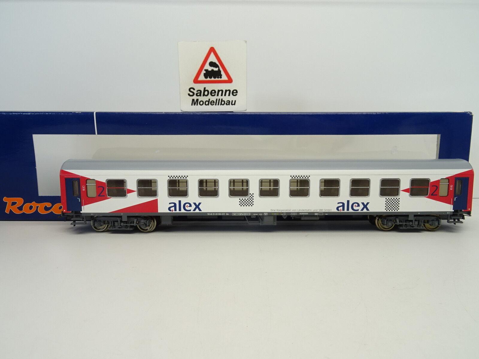 ROCO 45925 Nahverkehrs-Reisezugwagen ALEX 2.Klasse OVP C153  | München
