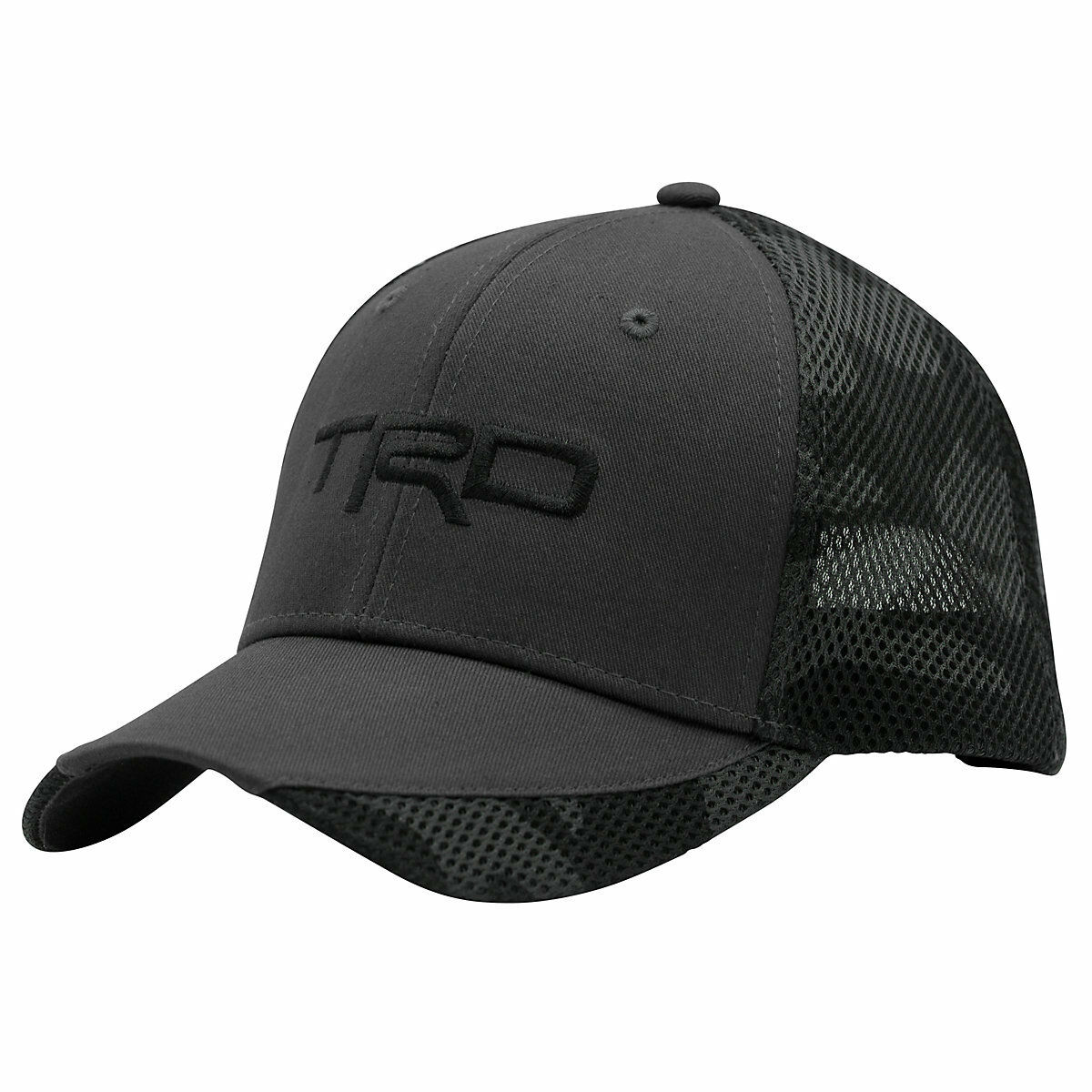 Toyota TRD Gray Camo and Black Camo Gray Cotton/Polyester Hat acf42f