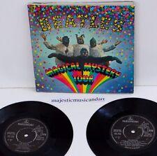 "THE BEATLES MAGICAL MYSTERY TOUR EP 7"" VINYL+BOOK+LYRIC 1967 UK PRESSING N.MINT"