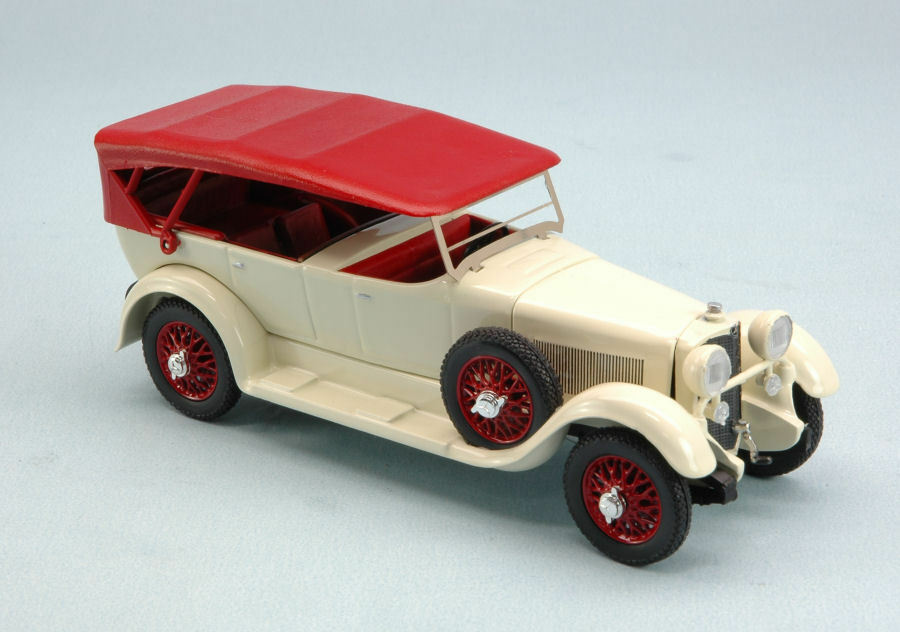 MERCEDES 11-40 1924 bianca  1:43 MODEL rio4462 Rio