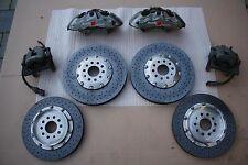 Audi A8 S8 Typ 4E D3 Ceramic Keramik Bremsanlage Bremsscheibe Bremssattel Brembo