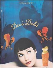 ▬► PUBLICITE ADVERTISING AD Parfum Perfume Deci Delà Nina RICCI 1985