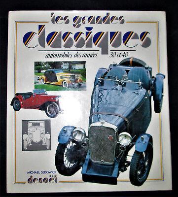 Discreet Les Grands Classiques Automobiles Des Années 30 Et 40 - Michael Siedgwick Waterdicht, Schokbestendig En Antimagnetisch