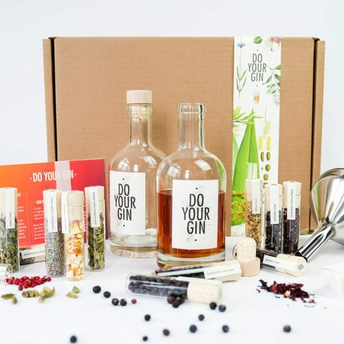 Flavored Gin Cocktail Botanicals Do Your Gin Gin Making Infusion Gift Kit