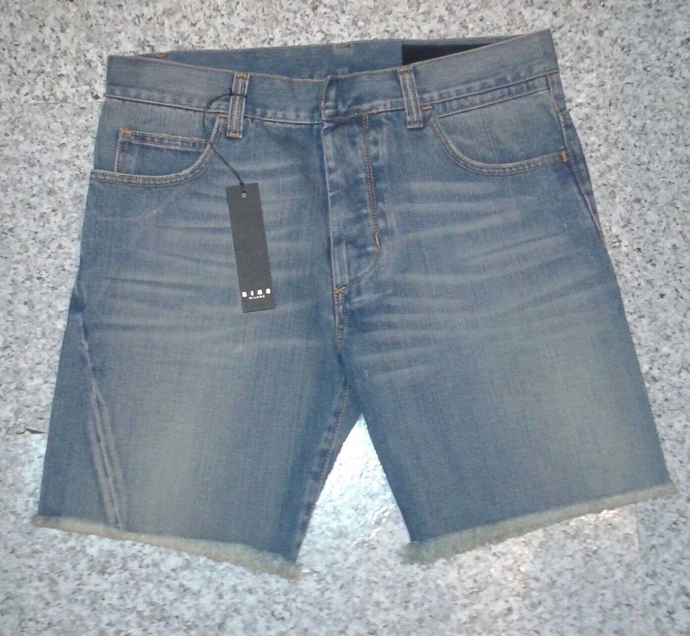 RING Milano bluee Bermuda Jean Shorts  MADE in ITALY - W32 ,33 ,34 ,35