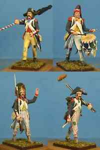 Napoleonic-Wars-French-republican-infantry-60mm-High-quality-Metal-Figure