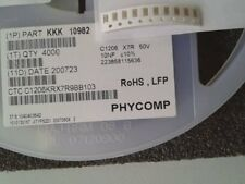 50V NEU 5 x Keramikkondensator X7R 0,22uF 10/% SR305C224KAR