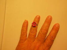Paparazzi Kids Starlet Shimmer Adjustable Ring FAIRY BRIGHT PINK new