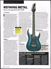 Ibanez Prestige RGA 321F-SPB electric guitar 8 x 11 sound check review