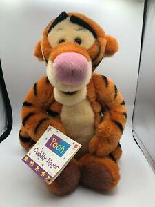 Official-Mattel-1998-Disney-Tigger-Tiger-Winnie-Pooh-Plush-Stuffed-Toy-Animal
