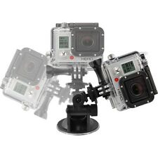 Xtreme Action Series XAS-SCM9 Black 9cm Suction Cup Mount for GoPro HERO 1 2 3 4