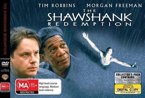 1 of 1 - The Shawshank Redemption (DVD, 2009, 2-Disc Set)