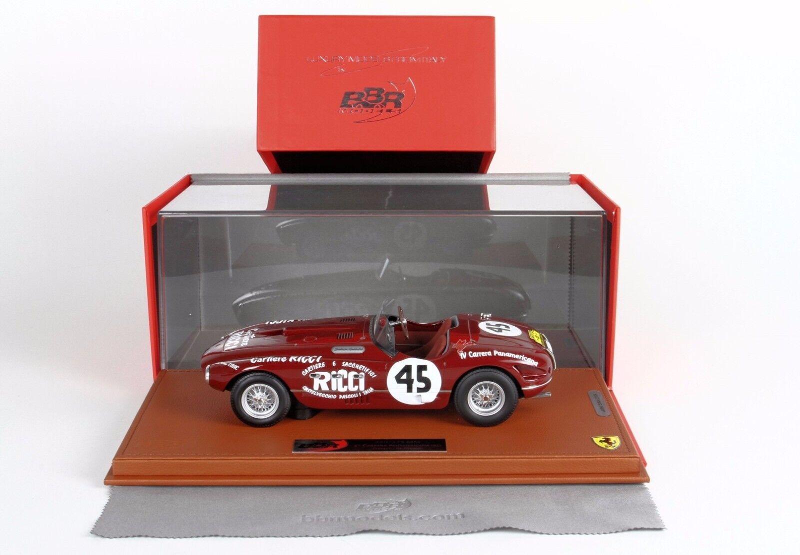 ofreciendo 100% Ferrari Ferrari Ferrari 340 Spyder Vignale IV° Carrera Panamerica 1953  LIM.ED.24 BBRC1823-1  echa un vistazo a los más baratos