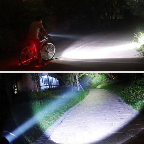 6000LM Weiß XM-L T6 LED Lampe Taschenlampe Jagd Licht Schalter Halterung 18650