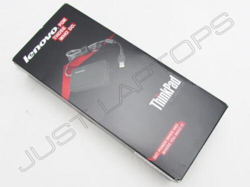 NUOVO Al dettaglio Lenovo ThinkPad L540 S540 X240 C7 AC Adattatore Alimentatore Caricatore Psu