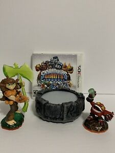 Nintendo 3DS Skylanders Giants Game W/ Portal And 2 Figures  Not Tested