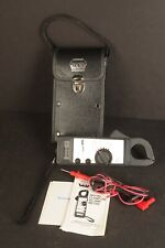 Vintage Uei Clamp Meter Multimeter Voltage Tester With Case Instructions Amp Probes