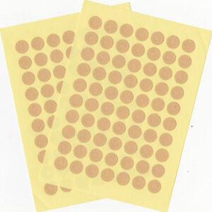70-Lochverstaerker-rund-0-9cm-Tags-bunt-oder-braun-Kraftpapier