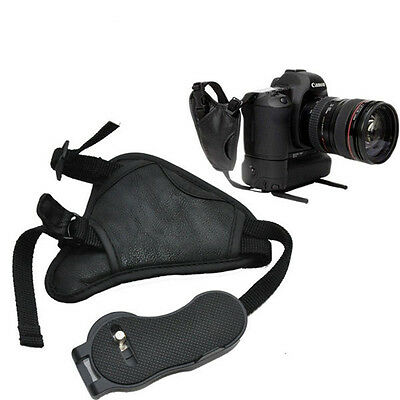 Correa muñeca para Nikon D3400 Camera Wrist Strap cuero PU