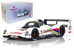 Spark 905 Mans 1992 Vainqueur Warwick 9580006440921 1 Peugeot ° N Du 18 Blundell Dalmas 18lm92 1 rgxEfwqHr