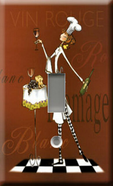 Single Light Switch Plate Cover - Sassy Chef 2