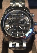 (new) Genuine Burberry BU1850 Silver Designer Watch With Tags And Papers